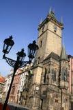 大厅老城镇 库存图片