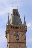 大厅老城镇 库存照片