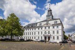 大厅老萨尔布吕肯城镇 免版税库存图片