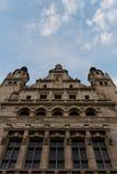 大厅莱比锡新的城镇 免版税库存图片
