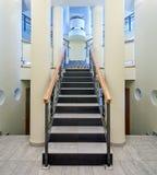 大厅豪华楼梯 库存照片