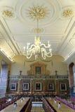 大厅,基督教会学院,牛津 库存图片