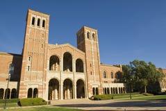 大厅royce加州大学洛杉矶分校 库存图片