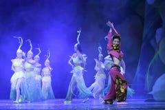 大历史和文化舞蹈minnan魅力 库存图片