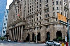 大厦中国农业银行 库存图片
