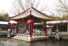 大厦中国有历史 免版税库存照片