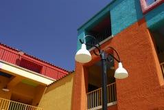 大厦五颜六色的图森 免版税库存图片