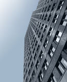 大厦从上面 免版税图库摄影