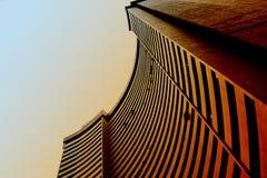 大厦仿造都市 库存图片
