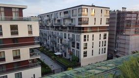 大厦企业成就symbilised华沙 免版税库存照片