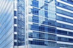 大厦企业玻璃结构表面 库存照片