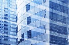 大厦企业玻璃结构表面 免版税库存图片