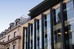 大厦伦敦现代办公室 库存图片