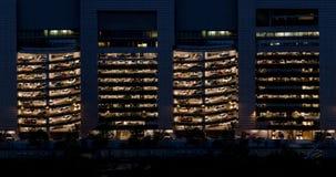 大厦停车处 免版税图库摄影