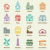 大厦元素 免版税库存图片