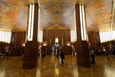 大厦克莱斯勒大厅 库存图片