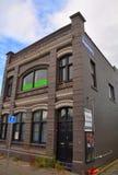 大厦克赖斯特切奇地震maude护士 免版税库存照片
