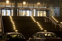 大厦入口全部现代办公室 免版税库存图片