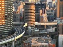 大厦入口高速公路大阪 库存图片