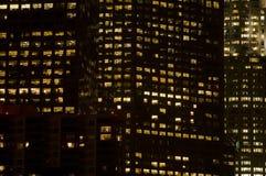 大厦关闭办公室  免版税库存图片