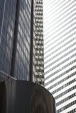 大厦刮板天空 免版税库存照片