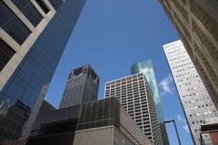 大厦刮板天空 免版税库存图片