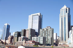 大厦办公室西雅图 免版税库存图片