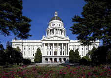 大厦加利福尼亚国会大厦状态 库存照片