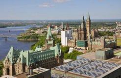 大厦加拿大渥太华议会 图库摄影
