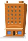 大厦动画片界面 库存照片