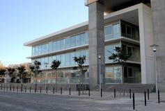 大厦区办公室 免版税库存照片