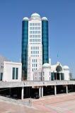 大厦卡扎克斯坦议会 免版税图库摄影