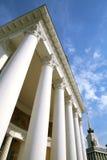 大厦历史记录柱子白色 图库摄影