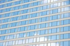 大厦反映视窗 库存图片