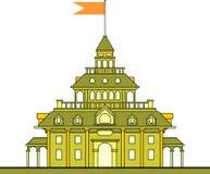 大厦向量 免版税库存图片