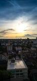 大厦和天空在曼谷 免版税库存图片