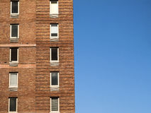 大厦和天空 图库摄影