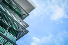 大厦和天空 免版税库存照片