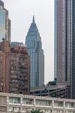 大厦和摩天大楼在榆中区重庆 库存照片
