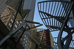 大厦和街道艺术 免版税库存图片