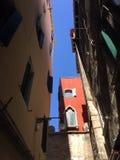 大厦和建筑学在威尼斯 库存照片