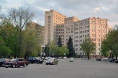 大厦哈尔科夫国立大学im Karazina 免版税库存图片