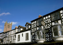 大厦商业有历史的英国 免版税库存图片