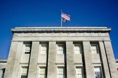 大厦国会大厦卡罗来纳州北部罗利 免版税库存图片