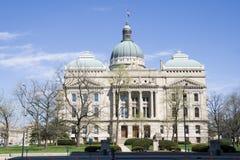 大厦国会大厦印第安纳 免版税库存照片