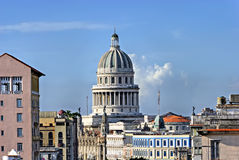 大厦国会大厦古巴哈瓦那国民 库存照片