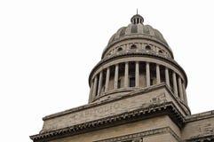 大厦国会大厦古巴哈瓦那 库存照片