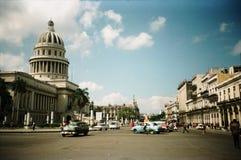 大厦国会大厦古巴历史哈瓦那 免版税库存照片