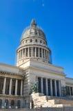 大厦国会大厦古巴哈瓦那 免版税库存照片