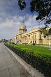 大厦国会大厦哈瓦那国家意见 免版税库存图片